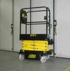 location de mini nacelle ciseaux électrique 5m AIRO XLP5E - 2