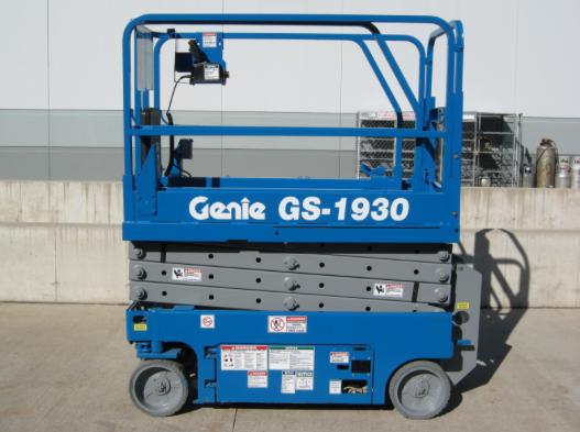 Location nacelle ciseaux électrique 8m GENIE GS1930 - 1