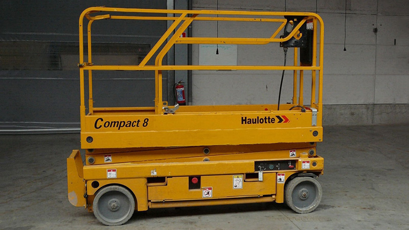 Location nacelle ciseaux électrique 8m HAULOTTE COMPACT 8 - 3