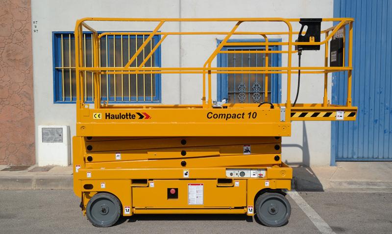 location nacelle ciseaux électrique 10m HAULOTTE COMPACT 10 - 2