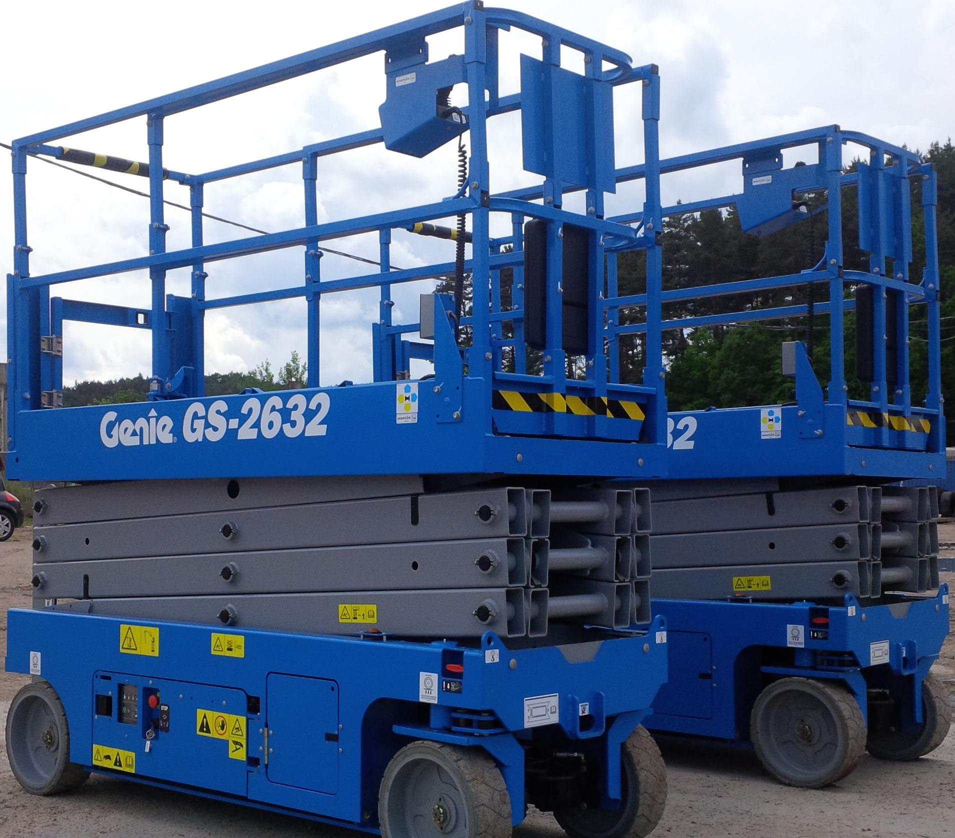 location nacelle ciseaux électrique 10m GENIE GS2632 - 2