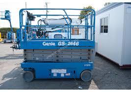 Location nacelle ciseaux électrique 10m GENIE GS2646 - 3