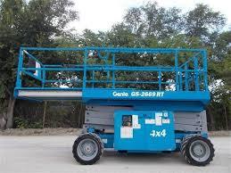 Location Nacelle ciseau diesel compact 10 m - GENIE GS2669RT - 3