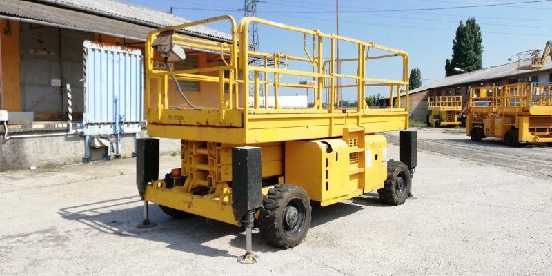 Location Nacelle ciseau diesel grand plateau 12 m - HAULOTTE H12SX - 3