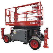 Location Nacelle ciseau diesel compact 12 m - SKYJACK SJ6826 - 2