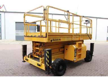Location Nacelle ciseau diesel 15 m - HAULOTTE H15SX - 1