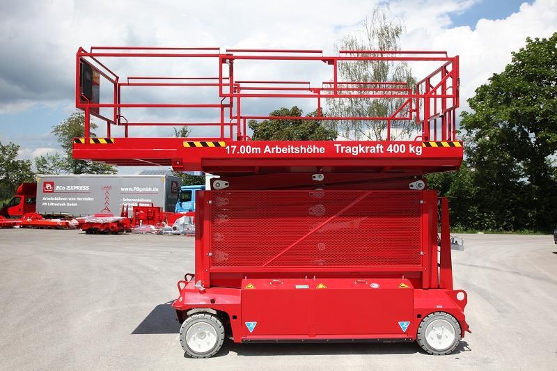 location de nacelle ciseaux électrique 17 m - PBLIFT S171-16e - 3