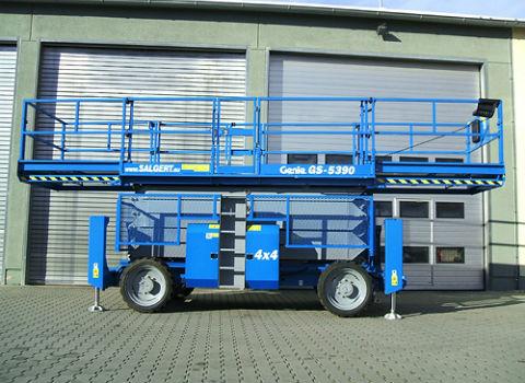 Location Nacelle ciseau diesel 18 m - GENIE gs5390 - 2
