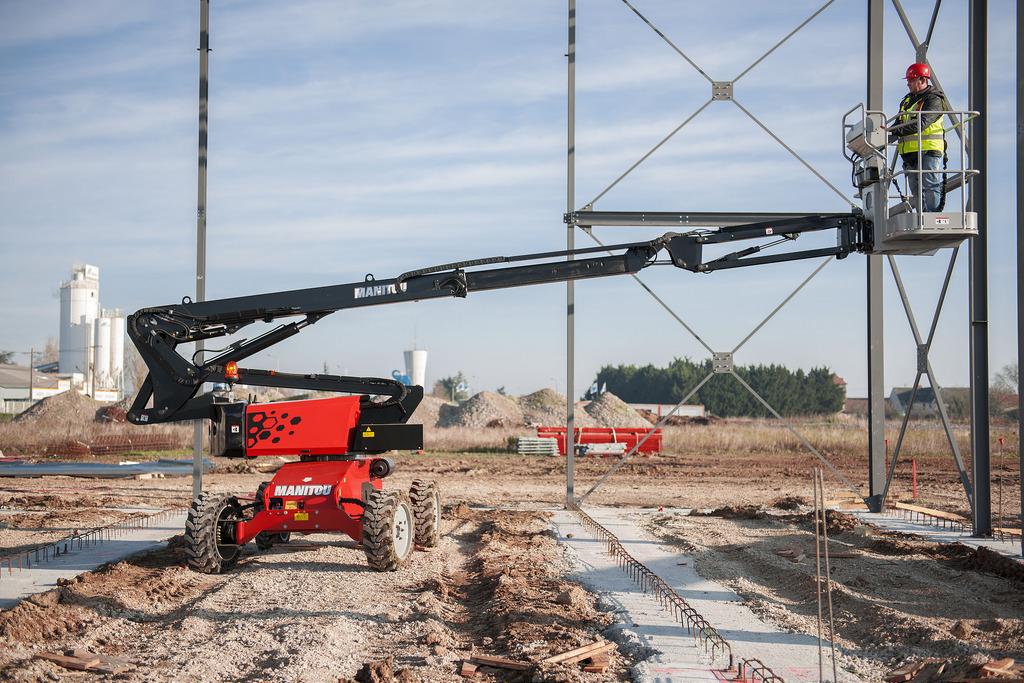 Location nacelle articulée diesel 12m MANITOU MANGO 12 - 3
