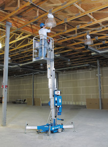 Location nacelle verticale électrique 8m GENIE AWP20S - 2