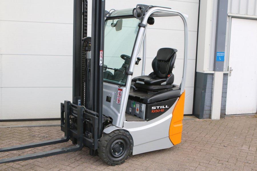 Location chariot frontal électrique 1 tonne 4,3m STILL Rx5010  - 1