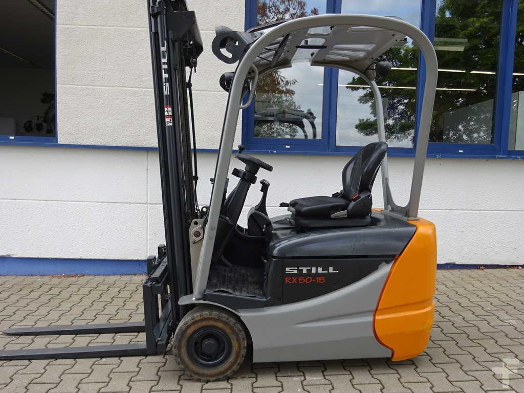 Location chariot élévateur électrique 1T5 STILL rx50-15 6m - 1