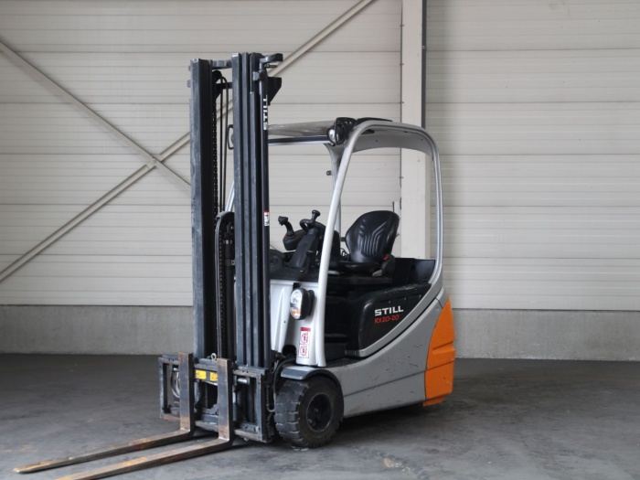 Location chariot élévateur électrique 2 tonnes STILL rx20-20 5m - 1