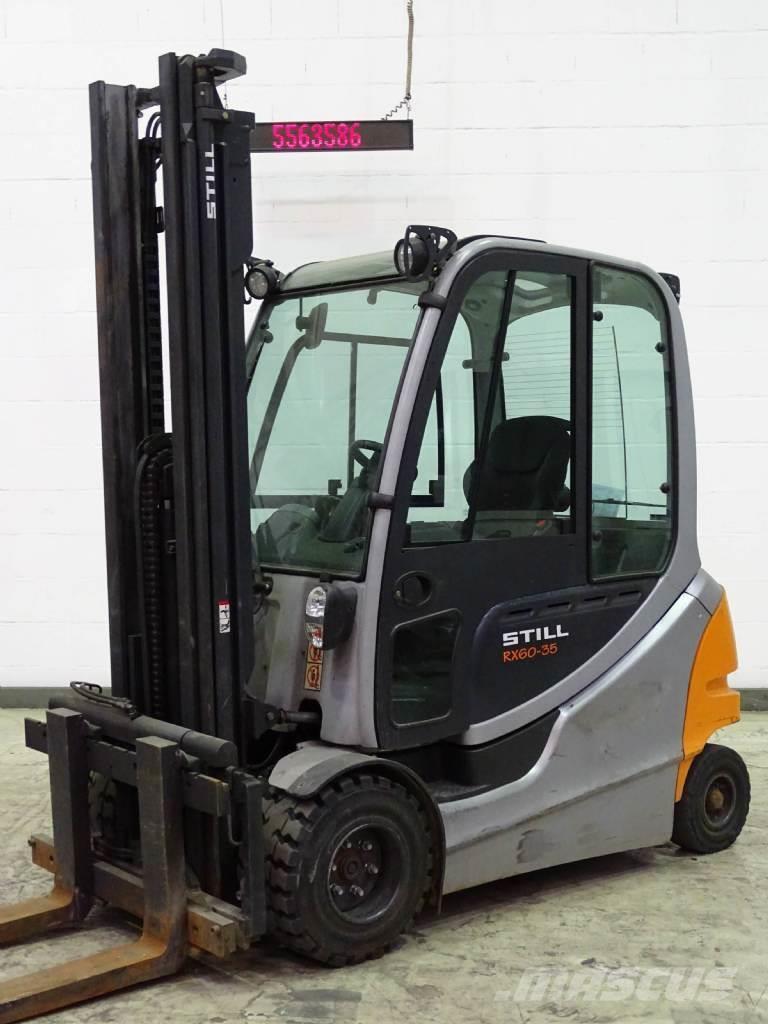 Location chariot élévateur électrique 2T5 STILL rx60-35 3m - 1