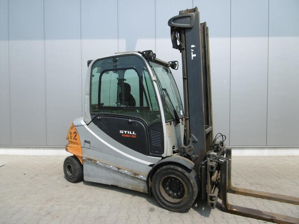 Location chariot élévateur électrique 5 tonnes STILL RX60-50 6M - 1