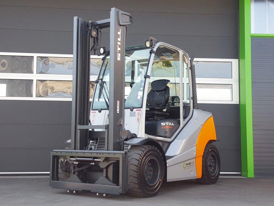 Location chariot élévateur thermique 5 tonnes STILL RX 70-50 6M - 1