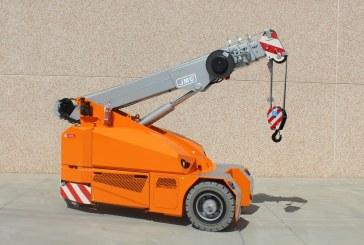 Location Mini-grue automotrice électrique 6 t / 8,5 m - JMG mc60s - 1