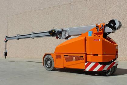 Location Mini-grue automotrice électrique 6 t / 8,5 m - JMG mc60s - 2