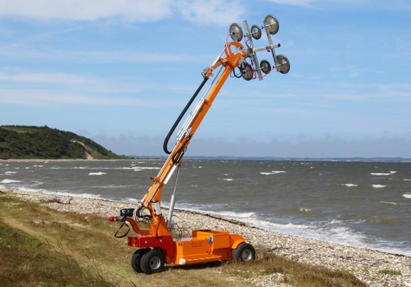 Location Robot de pose / monte vitre 850 kg / 4,60 m smartlift sl780outdoorgiant - 1