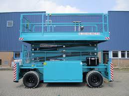 Location Nacelle ciseau diesel 22 m - HOLLANDLIFT hl-220 d25 - 2
